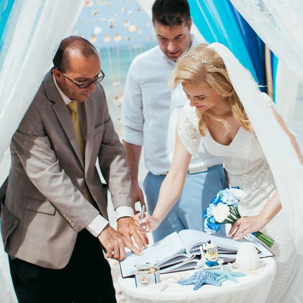 Официальная свадьба в Доминикане Стивена и Авелины – WedDesign – Свадьба в Доминикане