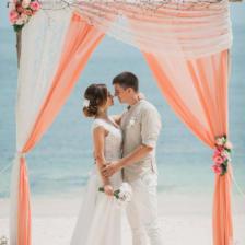 Оксана и Александр | WedDesign – Свадьба в Доминикане