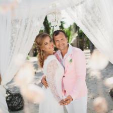 Роман и Елена | WedDesign – Свадьба в Доминикане