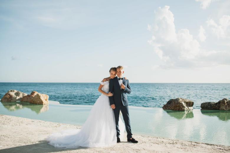 Шикарная свадьба в Доминикане Арнольда и Алисы в ресторане «Тракадеро» | WedDesign – Свадьба в Доминикане