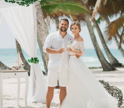 Татьяна и Алексей | WedDesign – Свадьба в Доминикане