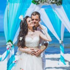 Анна и Евгений | WedDesign – Свадьба в Доминикане