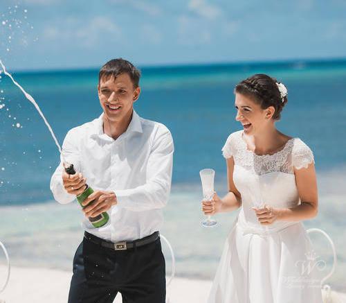 Антонина и Александр | WedDesign – Свадьба в Доминикане