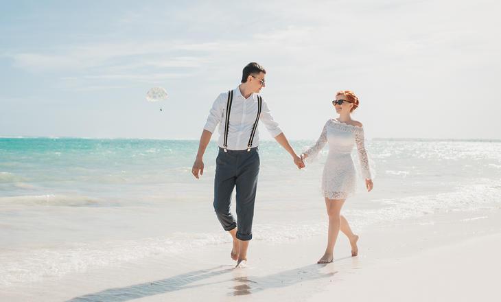 Акция-Свадебная церемония на пляже с белым песком – WedDesign – Свадьба в Доминикане
