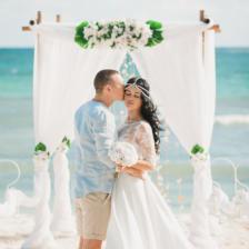 Виталий и Римма | WedDesign – Свадьба в Доминикане