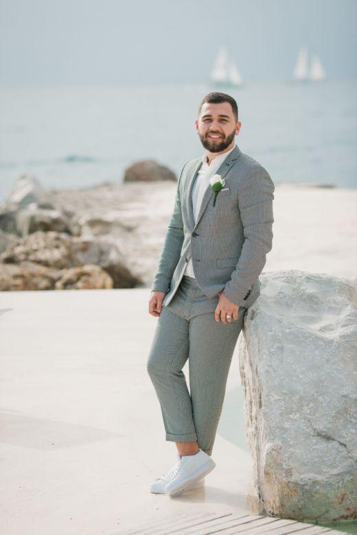 Свадебная церемония в европейском стиле в ресторане «Тракадеро» Александра и Екатерины | WedDesign – Свадьба в Доминикане