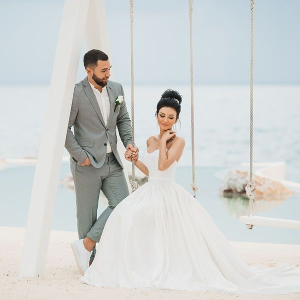 Свадебная церемония в европейском стиле в ресторане «Тракадеро» Александра и Екатерины – WedDesign – Свадьба в Доминикане