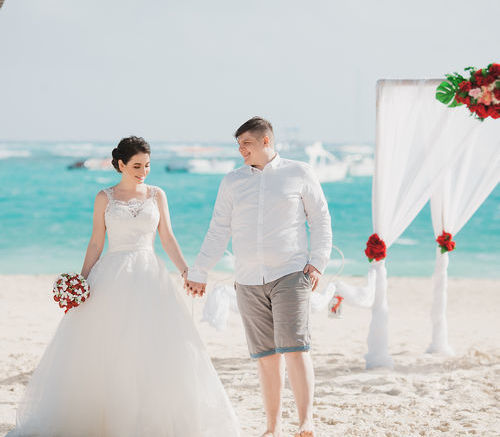 Анжелика и Дмитрий   WedDesign – Свадьба в Доминикане