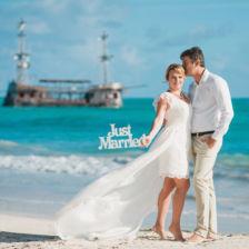 Карен и Кира | WedDesign – Свадьба в Доминикане