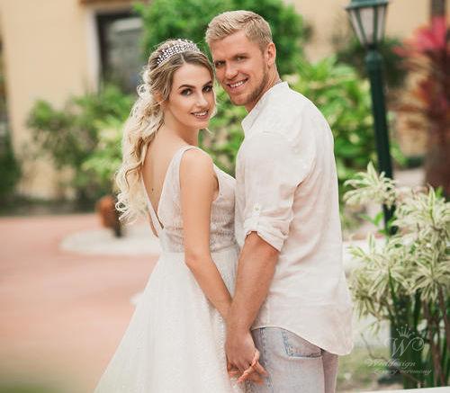 Анастасия и Евгений | WedDesign – Свадьба в Доминикане