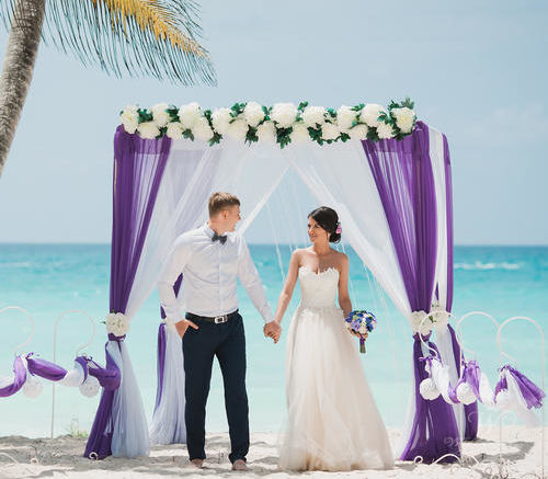 Владислав и Яна   WedDesign – Свадьба в Доминикане