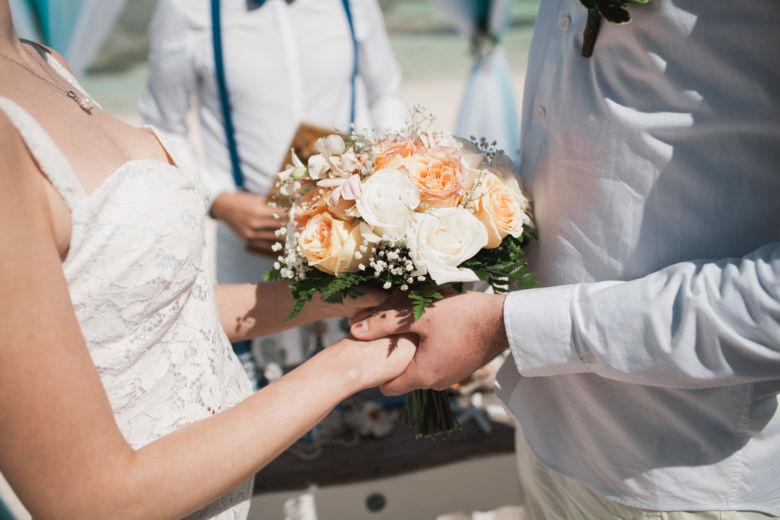 Пудровый свадебный букет – WedDesign | Свадьба в Доминикане