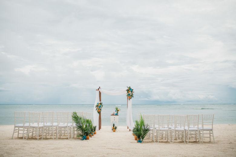 Свадебная арка в тропическом стиле – WedDesign | Свадьба в Доминикане