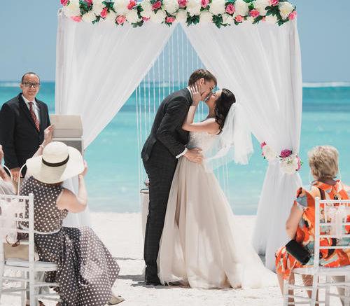 Андрей и Анастасия | WedDesign – Свадьба в Доминикане