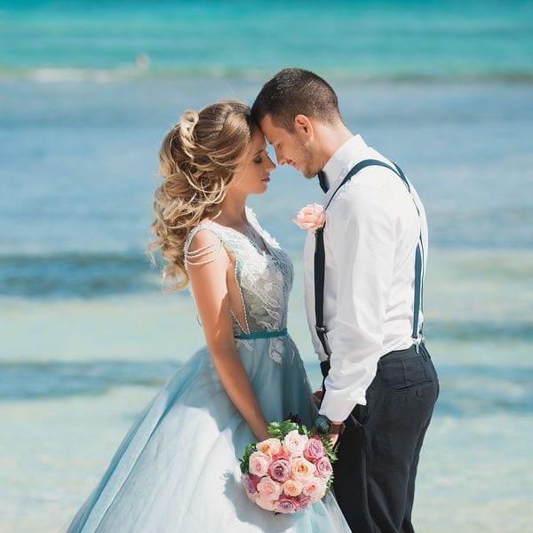 Свадебная церемония с гостями на приватном пляже в Пунта-Кане Кристины и Алексея – WedDesign – Свадьба в Доминикане