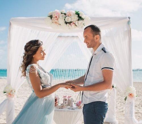 Ильнар и Анастасия | WedDesign – Свадьба в Доминикане