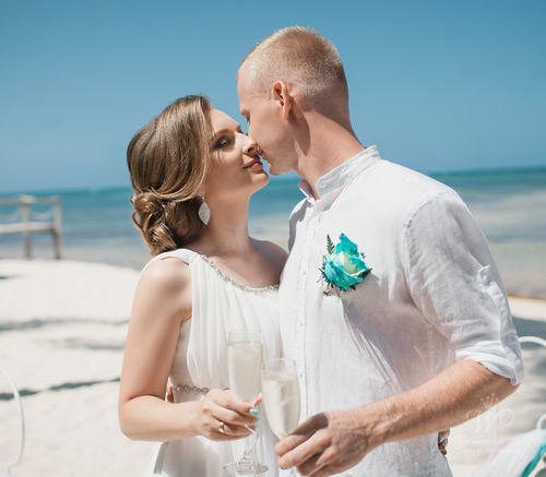 Сергей и Татьяна | WedDesign – Свадьба в Доминикане