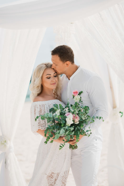 Букет растрепыш – WedDesign | Свадьба в Доминикане