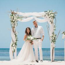 Александр и Наталья | WedDesign – Свадьба в Доминикане