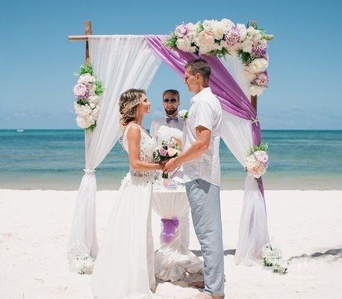 Евгений и Анна | WedDesign – Свадьба в Доминикане
