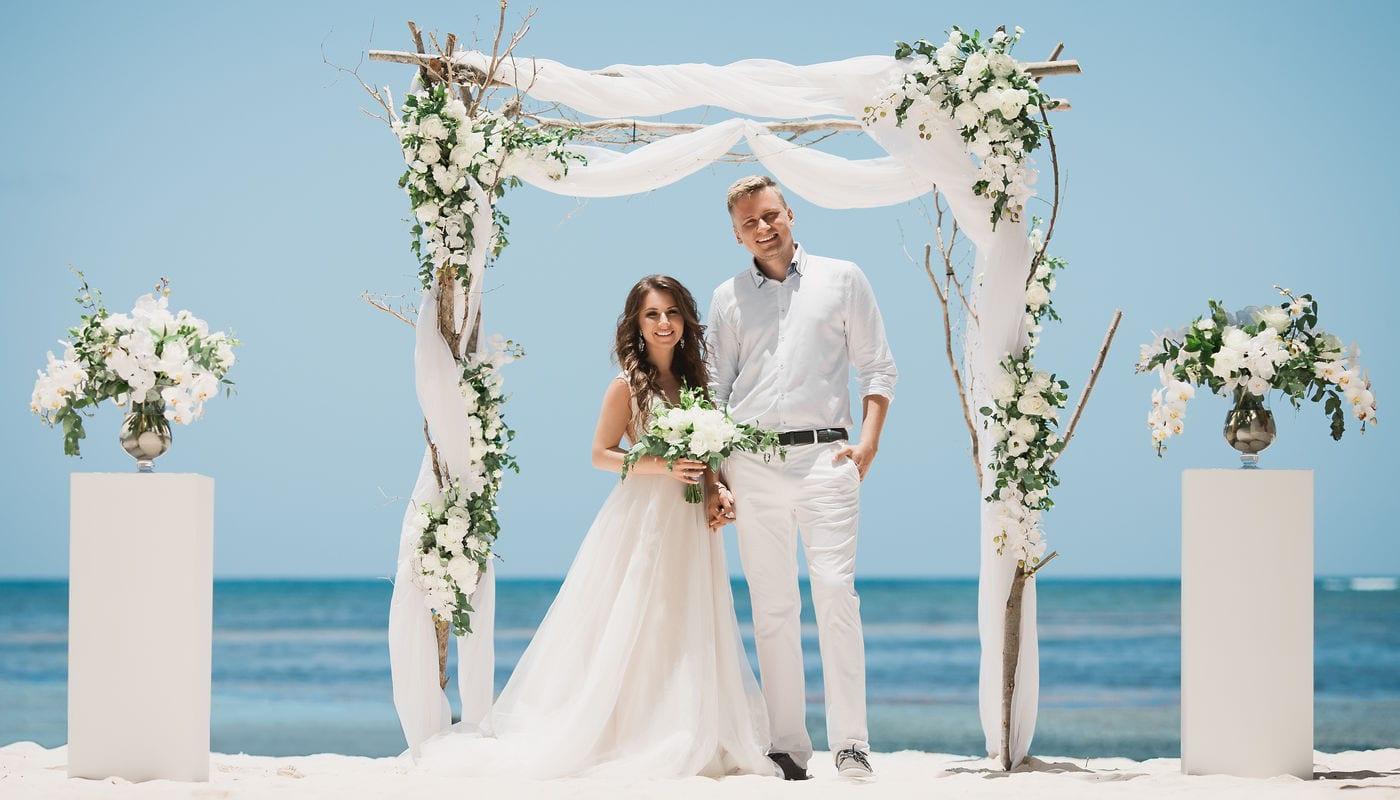 Оформление свадебных арок – WedDesign – Свадьба в Доминикане
