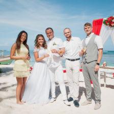 Ингрида и Каролис | WedDesign – Свадьба в Доминикане