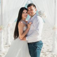 Максим и Оксана | WedDesign – Свадьба в Доминикане