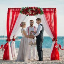 Сергей и Алёна | WedDesign – Свадьба в Доминикане
