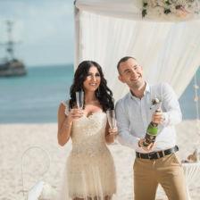 Валерия и Андрей | WedDesign – Свадьба в Доминикане