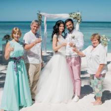 Кристина и Дмитрий | WedDesign – Свадьба в Доминикане