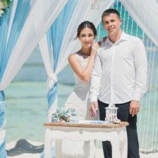 Настя и Саша | WedDesign – Свадьба в Доминикане