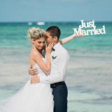 Нурсултан и Олеся | WedDesign – Свадьба в Доминикане