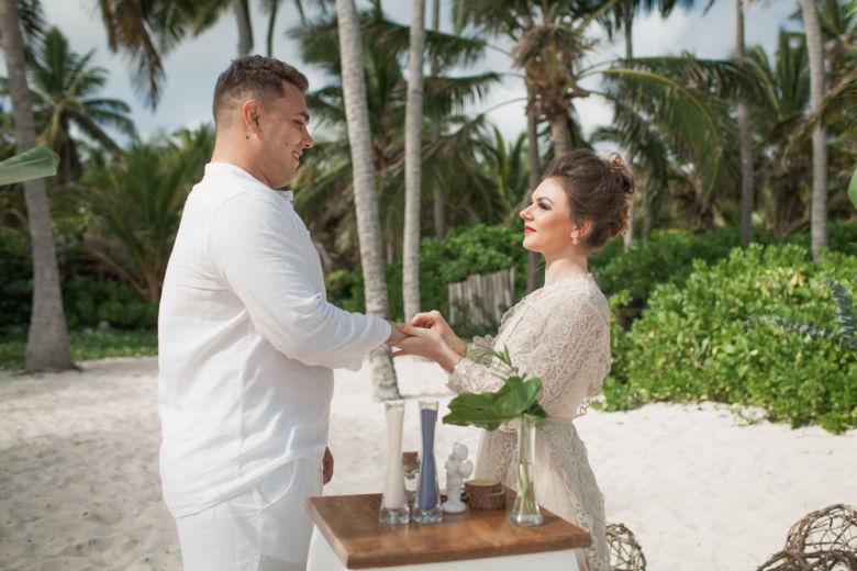 Тропическая свадьба в Доминикане на приватном пляже Дианы и Стаса