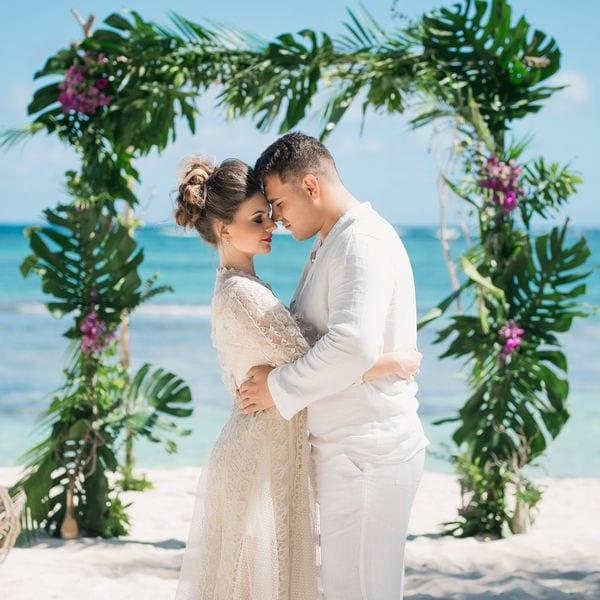 Тропическая свадьба в Доминикане на приватном пляже Дианы и Стаса – WedDesign – Свадьба в Доминикане