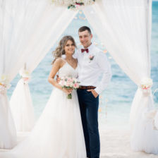 Оксана и Антон | WedDesign – Свадьба в Доминикане