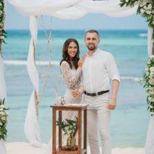 Виолетта и Павел | WedDesign – Свадьба в Доминикане
