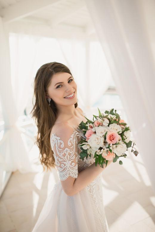 Букет из роз венделла и альстромерии – WedDesign – Свадьба в Доминикане