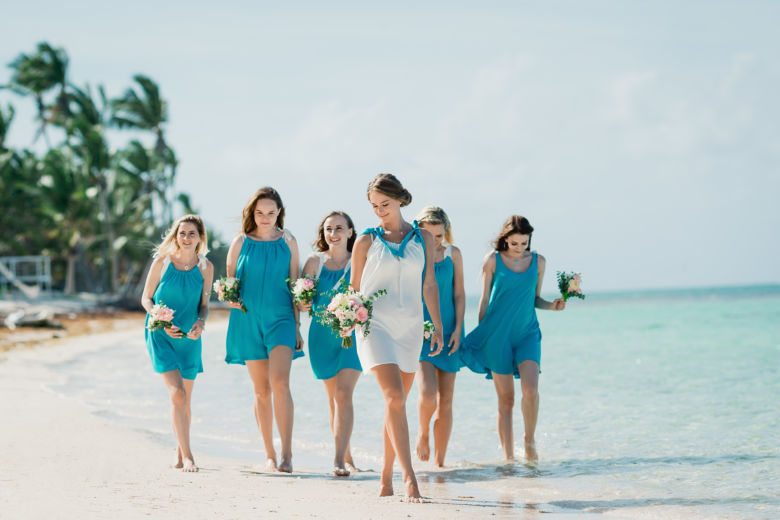 Букеты для подружек невесты – WedDesign – Свадьба в Доминикане