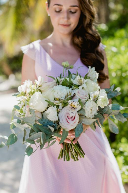 Нежный растрепыш – WedDesign – Свадьба в Доминикане