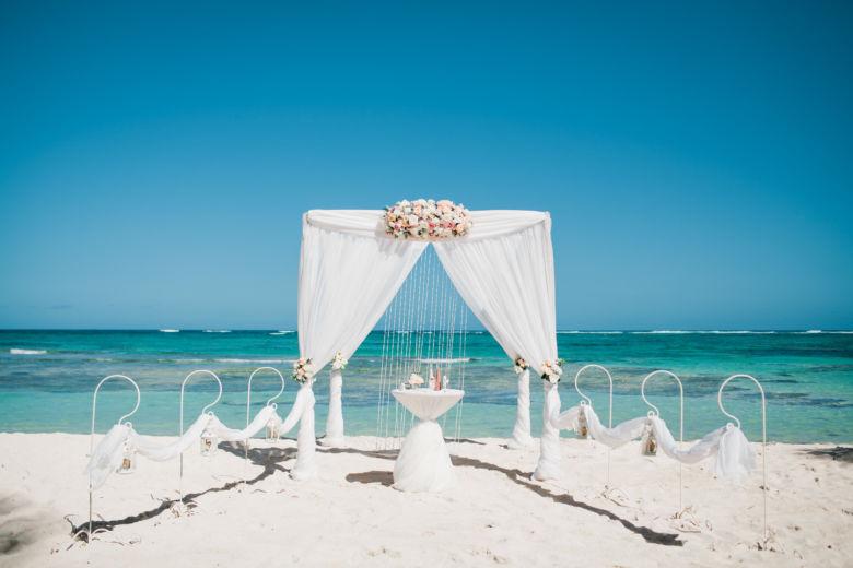 Живые цветы. Классическое оформление – WedDesign – Свадьба в Доминикане
