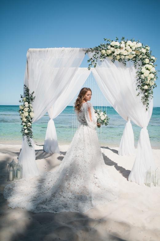 Живые цветы – WedDesign – Свадьба в Доминикане