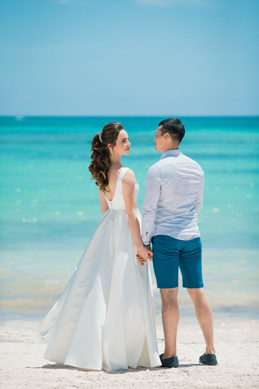 Свадьба в Кап Кане на пляже Хуанийо в Доминиканe – WedDesign – Свадьба в Доминикане