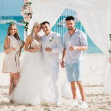 Вадим и Алина | WedDesign – Свадьба в Доминикане