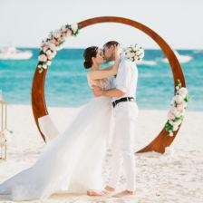 Юрий и Екатерина | WedDesign – Свадьба в Доминикане