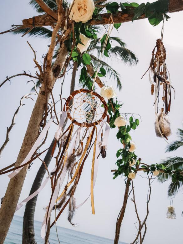 Ловец снов – WedDesign – Свадьба в Доминикане