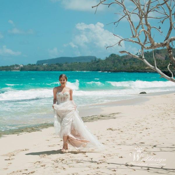Свадьба на полустрове Самана в Доминикане – WedDesign – Церемония в Доминиканской Республике