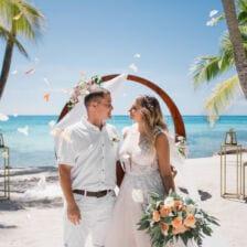 Олег и Ирина   WedDesign – Свадьба в Доминикане