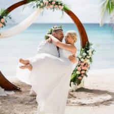 Светлана и Владимир   WedDesign – Свадьба в Доминикане