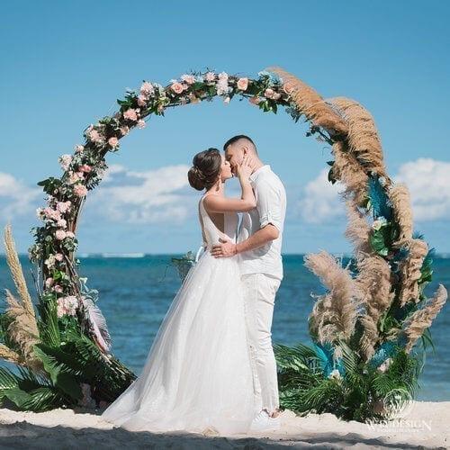 Анна и Дмитрий   WedDesign – Свадьба в Доминикане