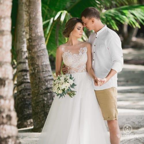 Константин и Валерия   WedDesign – Свадьба в Доминикане